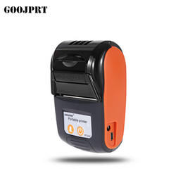 mini printer android NZ - Mini Portable Rechargeable Android Bluetooth 2.0 58mm 203DPI Thermal Receipt Printer for Restaurant Supermarket Dom