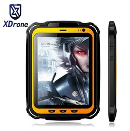 "china tablet quad core 2gb Australia - China Rugged tablet PC Phone IP67 Android Waterproof Shockproof Quad core 7.85"" Screen 2GB RAM GPS NFC 15000mAH Big Battery"