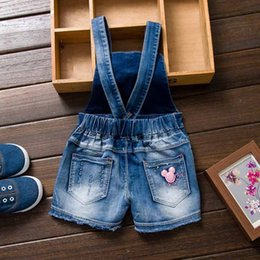 spring flannel NZ - 2019 year Spring Autu kids overall jeans clothes newborn baby denim overalls jumpsuits for toddler infant girls bib pants