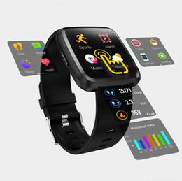 $enCountryForm.capitalKeyWord Australia - Y7 Plus Metal Smart watch IP67 Waterproof Touch Screen Heart Rate Monitor Blood Pressure Women men Wristband For Android IOS