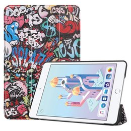 $enCountryForm.capitalKeyWord UK - Book Flip Cover Case for Apple iPad mini 4 mini 5 2019 7.9 inch mini4 mini5 A1538 A1550 Tablet Colorful Painted Pattern Wake Up