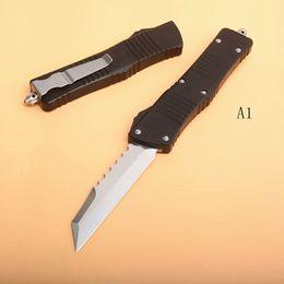 $enCountryForm.capitalKeyWord Australia - Top Quality MT Auto Tactical Knife D2 Satin Knife T6061 Aviation aluminum Handle Outdoor Survival Knives EDC Gear With Nolon Bag