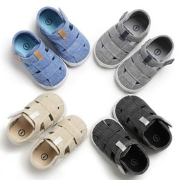 $enCountryForm.capitalKeyWord Australia - 2019 Summer Baby Boys Girls Canvas Sandals Sports Sneaker Shoes Baby Toddler Kids Shoes Hollow Out Solid for 0-18M