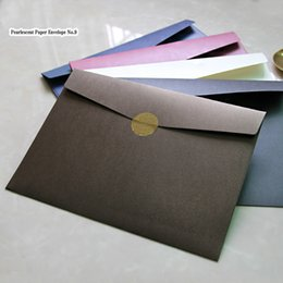 $enCountryForm.capitalKeyWord NZ - 20pc set Creative A4 Envelope 23*32cm Vintage Envelope for Postcard Christmas Wedding Large Exceed Thickness File Bag Stationery