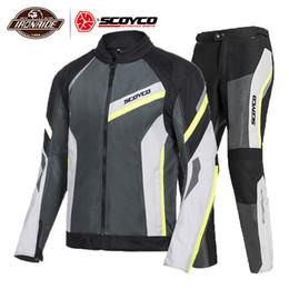 $enCountryForm.capitalKeyWord Australia - SCOYCO Summer Motorcycle Jacket Man Moto Jacket Motocross Breathable Body Armor Motorcycle Suit Protection