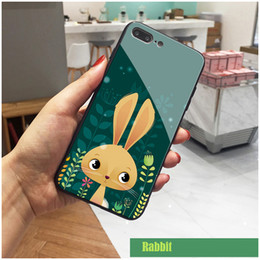 Cell Phone Cases For Cheap Australia - Animal Pig Fox Bear Glass Cell Phone Case for iPhone XS MAX XR 6s 7 8 Plus Mobile Phone for Apple Cheap for huawei p20 pro mate p20 pro Soft