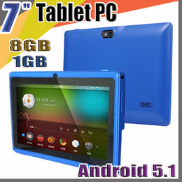 "$enCountryForm.capitalKeyWord Canada - 20X tablets 7"" 7 inch 1GB 8GB A33 Quad Core Tablet pc Allwinner Android 5.1 Capacitive WIFI Dual Camera facebook Q88 flash C-7PB"