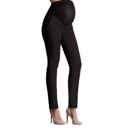 Leggings Pregnant Australia - Telotuny Elastic Belly Trousers Pencil Pants Maternity Pregnant Leggings Pants pregnancy maternity clothes clothing leggings D28