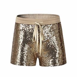 Chinese  Shorts Women Ladies Sequins Shorts Sexy & Club Pocket Korean Style Women Short Femme Hot Pants Mujer pantalones cortos mujer manufacturers