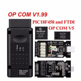 tools com NZ - op com V1.65 V1.78 V1.99 with PIC18F458 FTDI op-com OBD2 Auto Diagnostic tool for Opel OPCOM CAN BUS V1.7 can be flash update