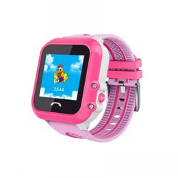 $enCountryForm.capitalKeyWord Australia - 2019 NEW GPS Tracker Watch For Kids Waterproof SOS Call Dual Identity Remote Monitoring For Smart Touch Screen Breathable DF27