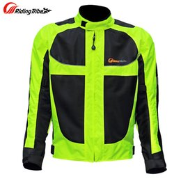 Breathable Summer Motorcycle Jackets Australia - Men motorcycle racing jackets male motorcycle racing protective clothing drop resistance summer breathable Reflective clothes