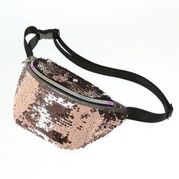Flash Packs Australia - Mermaid sequins waist pack outdoor travel fashion fanny pack flash heuptas chest bag