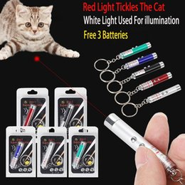$enCountryForm.capitalKeyWord Australia - Dropshipping Cat Toy Laser Pointer 5 Options Children LED Lights Metal Pen For Small Medium Dog Toys Best Selling 2019 Products
