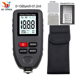 Discount paint coating tester - Width Measuring Instruments TC-100 Thickness gauge paint coating Digital Car Paint Thickness Meter 0-1300um Width Measur