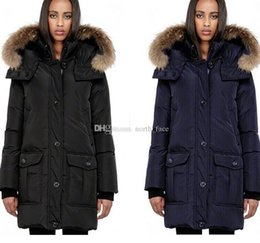 women big hoods down coats Australia - E03 Big Fur Manteaux D hiver Des Femme Designer Jacket Winter Fur Hood Coats Luxury Women Canada Down Jacket Womens Parka Coats Outerwear