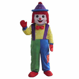 Hot Clown Comic Mascot Costume Halloween Party Dress Taille Adulte Livraison Gratuite