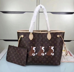 cda11c9923b3 Louis Bag UK - 143 KLouis vuitton New women s Neverfull bag m40996 handbag  Genuine Leather shoulder