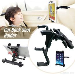 $enCountryForm.capitalKeyWord Australia - Car Back Seat Holder 360 Degree Rotation Bracket Clip For iPad Air 1 2 Pro New 2017 9.7 10.5 Mini GPS Samsung Huawei Tablet PC Retailbox