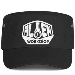 $enCountryForm.capitalKeyWord Australia - Womens Mens Plain Adjustable Alien Workshop logo Hip-Hop Cotton Cricket Cap Summer Hats Military Caps Airy Mesh Hats For Men Women
