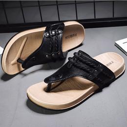 $enCountryForm.capitalKeyWord Australia - The latest designer shoes men's flip flop designer sandals designer sandals comfortable soft-soled slippers beach slides flip flops
