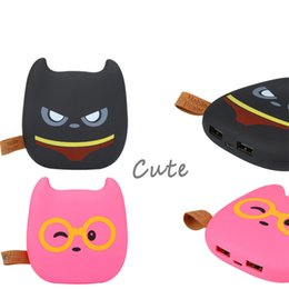 portable battery charger cell phones Australia - 2018 New Cute Emoji 10000mAh Power Bank Portable Dual USB External Battery Charger Powerbank For Cell Phone For iPhone 8 Xiaomi