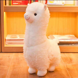 Toys japanese online shopping - Big cute plush toy grass mud horse alpaca doll sleeping pillow Japanese doll girl birthday present