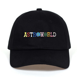 Chinese  Travi$ Scott latest album ASTROWORLD Dad Hat 100% Cotton High quality embroidery Astroworld Baseball Caps Unisex Travis ScottNapback manufacturers