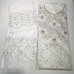 $enCountryForm.capitalKeyWord Australia - 3 in 1 african bazin riche fabric with beads&stones tissu africain 7yds jacquard basin getzner brocade beaded fabric for wedding