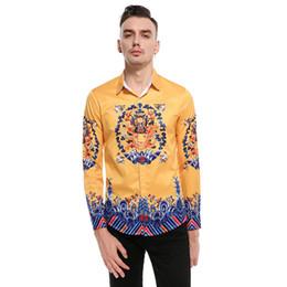 Silk tuxedoS online shopping - Spring Autumn New style Men Silk Tuxedo Shirts Men Long Sleeve Shirt shirt