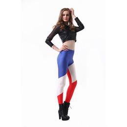 39d19c19db532 Lady Leggings French National Flag 3D Digital Full Printed Full Length Pants  Girls Workout Pencil Fit Woman Soft Runner Jeggings (RLLgs3222)