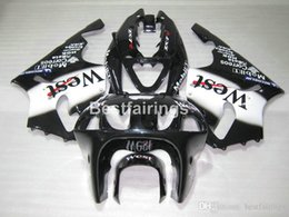 $enCountryForm.capitalKeyWord Australia - Top-selling plastic fairing kit for Kawasaki Ninja ZX7R 96 97 98 99 00-03 west sticker black fairings kits ZX7R 1996-2003 TY23