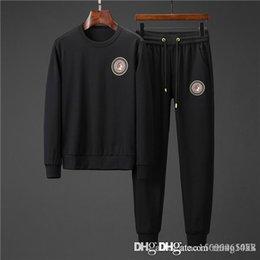 Mens coat xxxl online shopping - Men s Tracksuits Sweatshirts Suits Luxury Sports Suit Men Hoodies Jackets Coat Mens Medusa Sportswear Sweatshirt Tracksuit Jacket sets7