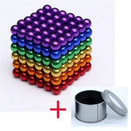 funny blocks Australia - Funny 3mm Magnetic Cube Neo Cube Magic Cube Blocks Magnets Puzzle 216pcs Balling with Box Gift Toys