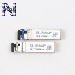 $enCountryForm.capitalKeyWord Australia - Brand Original OEM module 10Gbs mode fiber optical module SFP+ 10G-BX20-U D,10Gbs-1270 1330nm-20KM