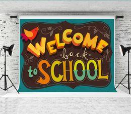 $enCountryForm.capitalKeyWord Australia - Dream 7x5ft Welcome Back to School Photography Backgrounds Modern Art Design Decor Green Photo Backdrop for School Party Shoot Studio Prop