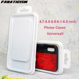 Wholesale Boxes Packaging Australia - Fanaticism Universal PVC Retail Packaging For iPhone XR XS Max 6 7 8 Samusng S10e S10 S9 S8 Plus Phone Cover Package Box
