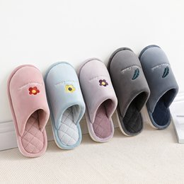 couple shoes sale NZ - Men's Couples Hot Sale Natural Flax Home Slippers Indoor Floor Shoes Silent Sweat Slippers For Summer Women Sandals 30