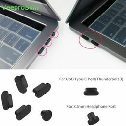 "$enCountryForm.capitalKeyWord Australia - Anti Dust Plugs Cover for MacBook "" 2018   MacBook Pro 2018 2017 2016 A1708 A1706 A1989 A1990 A1534 Port Plugs Cover Set"