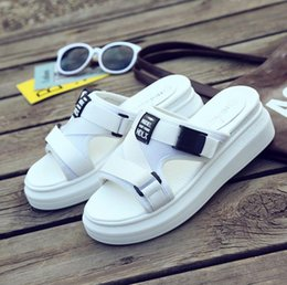 $enCountryForm.capitalKeyWord Australia - The new product burst 2019 trend cool drag girl summer new thick bottom Han version ulzang fashion hundred take the original style to go out