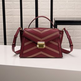 581c79112cc4 Beach Bag Woman 2019 Xia Willow Nail Rock Wind Handbag Single Shoulder Bat  Package genuine leather Crossbody New Design Fashion For Women