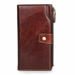 $enCountryForm.capitalKeyWord UK - Business Retro Cow Leather Unisex Clutch Bag Card Credit Holder Long Wallet Phone Pocket