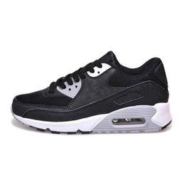 Nike Air Max 90 Airmax 90  2019 New Moda e amarelo preto moda vermelho respirável Sports Shoes Homens e mulheres sapatos de escalada clássico venda por atacado