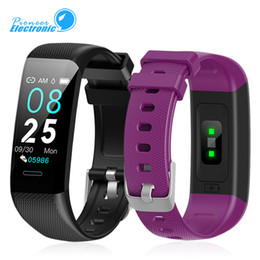 Discount blue smart watch - C20 Smart Band Bracelet Heart Rate Watch Activity Fitness Tracker Air intelligence PK ID115 Plus for Apple Watch