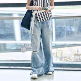 b53d6dcb160fd Women Maxi Pants Australia - Hole Jeans For Women High Waist Vintage Plus  Size Maxi Pants