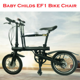 Baby Child Bicycle Bike Chair Seat for Mijia Qicycle EF1 Electric Bike Foldable E-Bike Saddle Children Folding Seat Chair on Sale