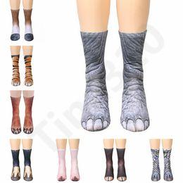 e93ef5a486c Sports Socks New Kids Men 3D Printed Stocking New Pattern Hip Hop Cotton  Sock Unisex SOX Emoji Animal Cartoon Skull 120pair T1I1149