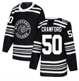 Top Chicago Blackhawks  50 Crawford Black Authentic 2019 Winter Classic  Stitched Jersey 1ba31fbad