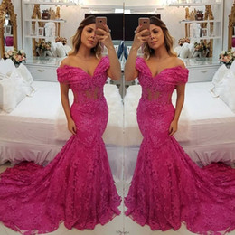 Prom dress sexy lace bodice online shopping - 2020 Mermaid Prom Dresses Sleeveless Maxi Dress Party Wear Formal Evening Gown Beaded Plus Size Off Shoulder Sheer Bodice