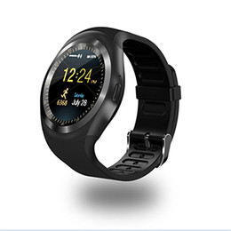 $enCountryForm.capitalKeyWord Australia - Smart sports watch Y1 Bluetooth wear fitness tracker support sim card anti-lost for ios Android smartphone retail